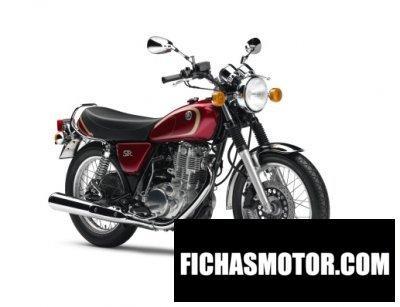 Ficha técnica Yamaha sr400 2011