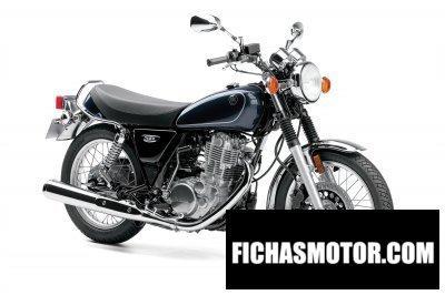 Ficha técnica Yamaha sr400 2015