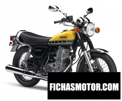 Ficha técnica Yamaha sr400 2017