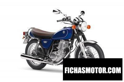 Ficha técnica Yamaha SR400 2019
