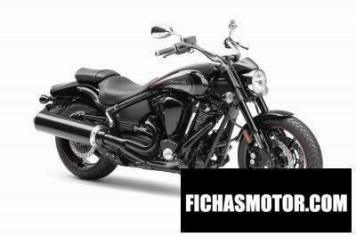 Imagen moto Yamaha star midnight warrior año 2013