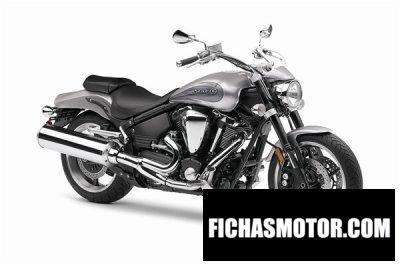 Imagen moto Yamaha star warrior año 2011