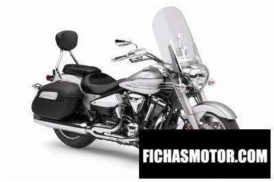 Imagen moto Yamaha stratoliner año 2011