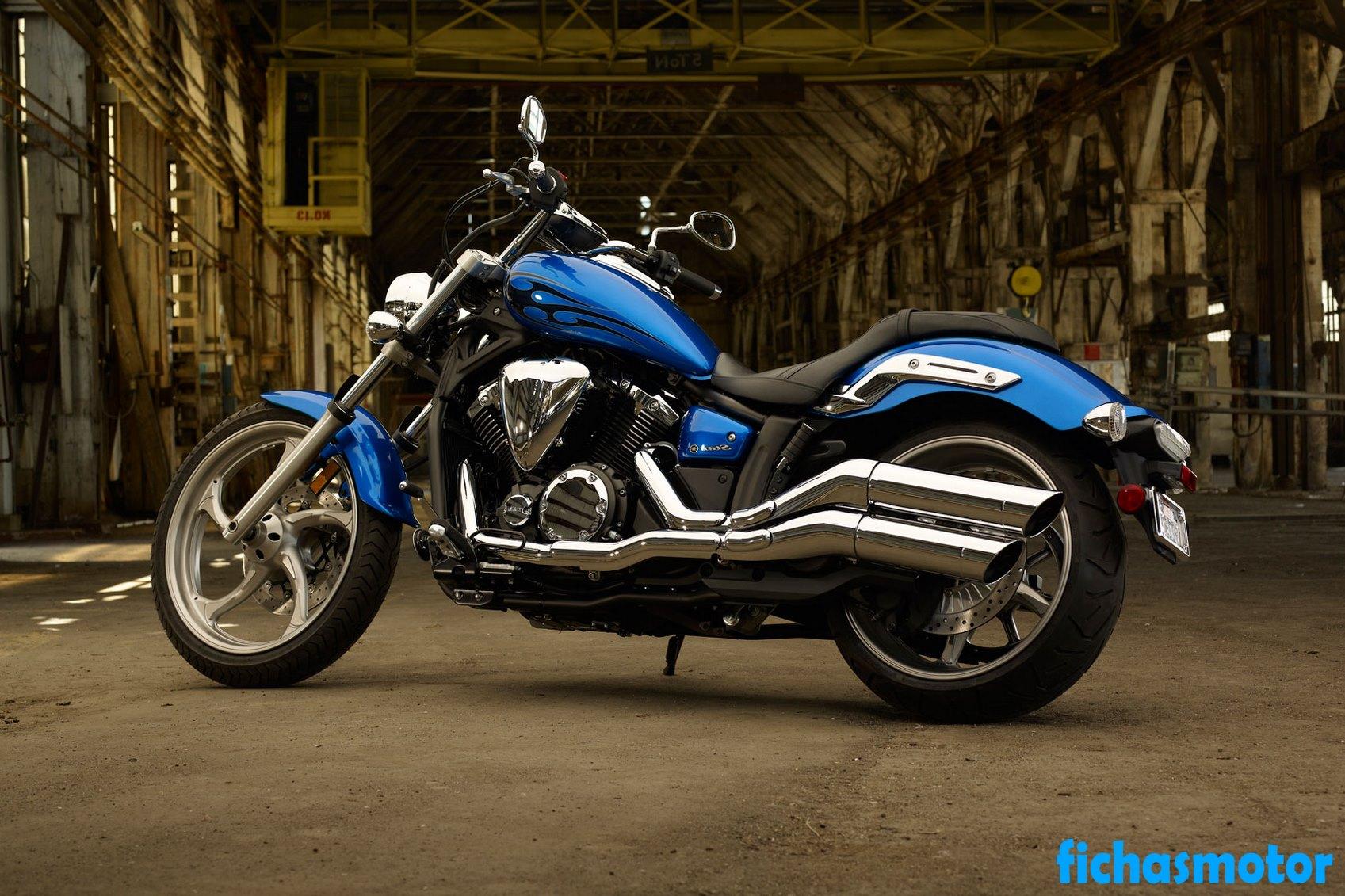 Imagen moto Yamaha stryker año 2011