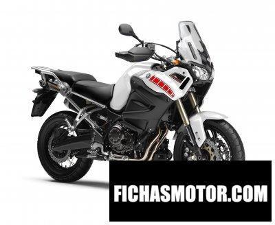 Imagen moto Yamaha super tenere año 2013