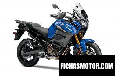 Ficha técnica Yamaha super tenere 2014