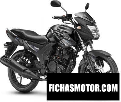 Imagen moto Yamaha SZ año 2020