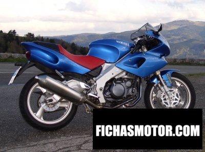 Ficha técnica Yamaha szr 660 1996