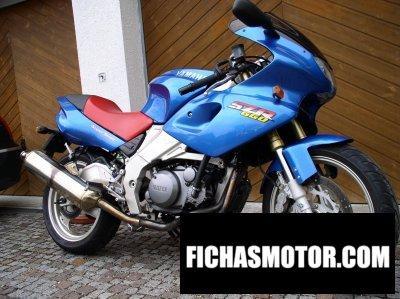 Ficha técnica Yamaha szr 660 1998