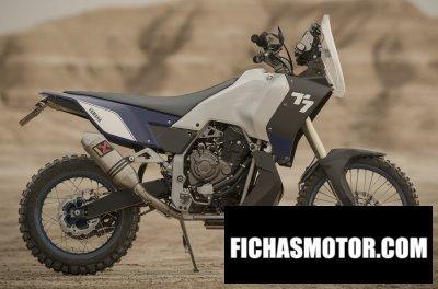 Imagen moto Yamaha t7 concept año 2017