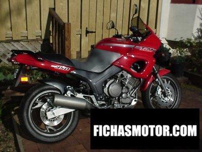 Imagen moto Yamaha tdm 850 año 1992