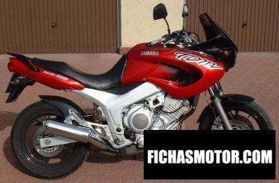 Ficha técnica Yamaha tdm 850 1997