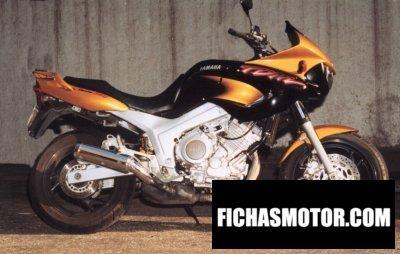 Ficha técnica Yamaha tdm 850 1998