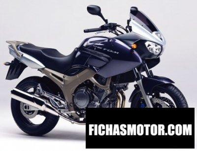 Ficha técnica Yamaha tdm 900 2004