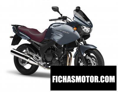 Ficha técnica Yamaha tdm 900 2011