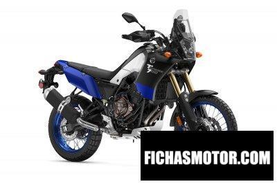 Ficha técnica Yamaha Tenere 700 2020
