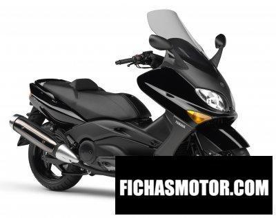 Ficha técnica Yamaha tmax 2007