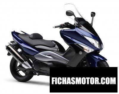 Ficha técnica Yamaha tmax 2008