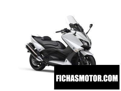 Ficha técnica Yamaha tmax 2015