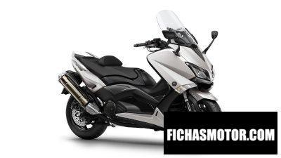 Ficha técnica Yamaha tmax 2016