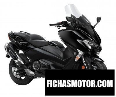 Imagen moto Yamaha tmax año 2017