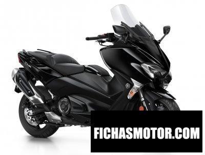 Ficha técnica Yamaha tmax 2018