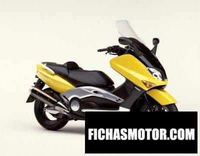 Ficha técnica Yamaha tmax 500 2002