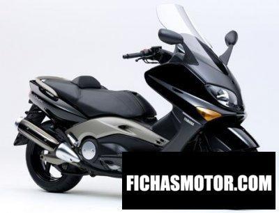 Ficha técnica Yamaha tmax 500 2004