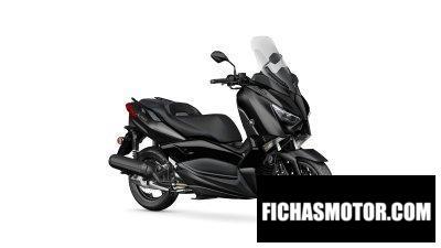 Ficha técnica Yamaha TMAX 560 2020