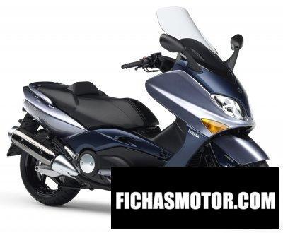 Ficha técnica Yamaha tmax - a 2006