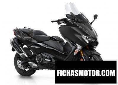 Ficha técnica Yamaha tmax dx 2018