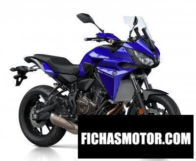 Ficha técnica Yamaha tracer 700 2017