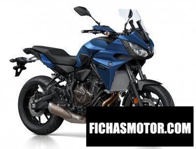 Ficha técnica Yamaha tracer 700 2018
