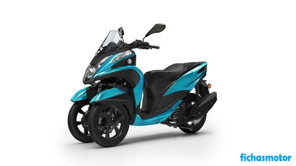 Ficha técnica Yamaha Tricity 125 2020