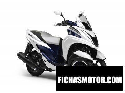 Ficha técnica Yamaha tricity 2014