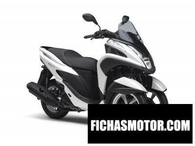 Imagen moto Yamaha tricity año 2015