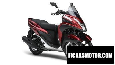 Ficha técnica Yamaha Tricity 2019