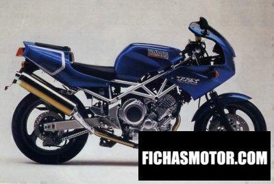 Ficha técnica Yamaha trx 850 1996