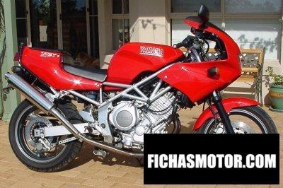 Ficha técnica Yamaha trx 850 1997
