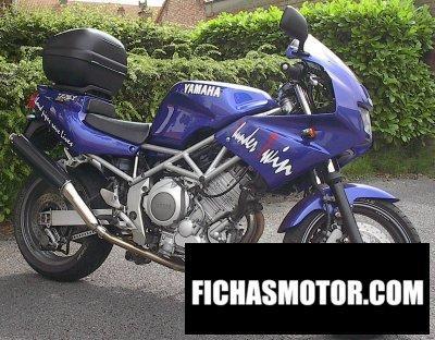 Ficha técnica Yamaha trx 850 1998