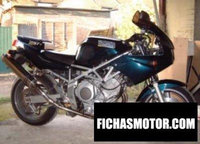 Ficha técnica Yamaha trx 850 1999