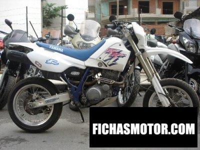 Ficha técnica Yamaha tt 600 e 1994