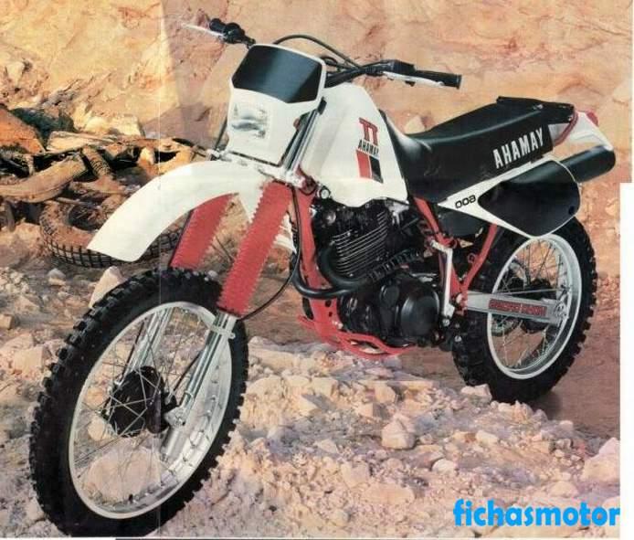 Ficha técnica Yamaha tt 600 e 1997