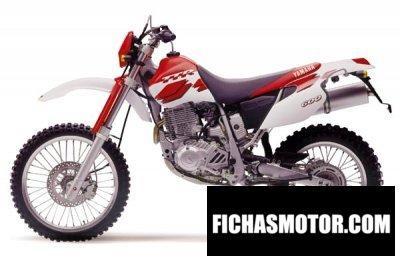 Ficha técnica Yamaha tt 600 r 1999