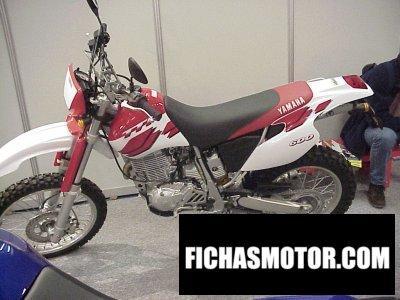 Ficha técnica Yamaha tt 600 r 2000