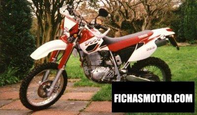 Ficha técnica Yamaha tt 600 r 2001