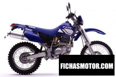 Ficha técnica Yamaha tt 600 r 2002