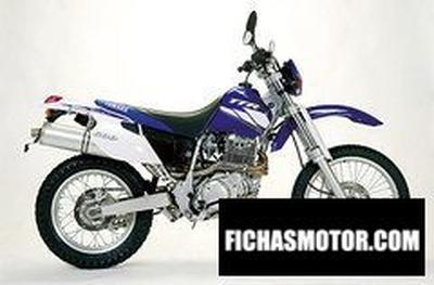 Ficha técnica Yamaha tt 600 re 2003