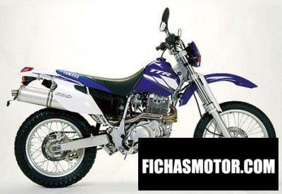 Ficha técnica Yamaha tt 600 re 2004