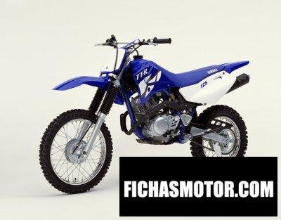 Ficha técnica Yamaha tt-r 125 2002
